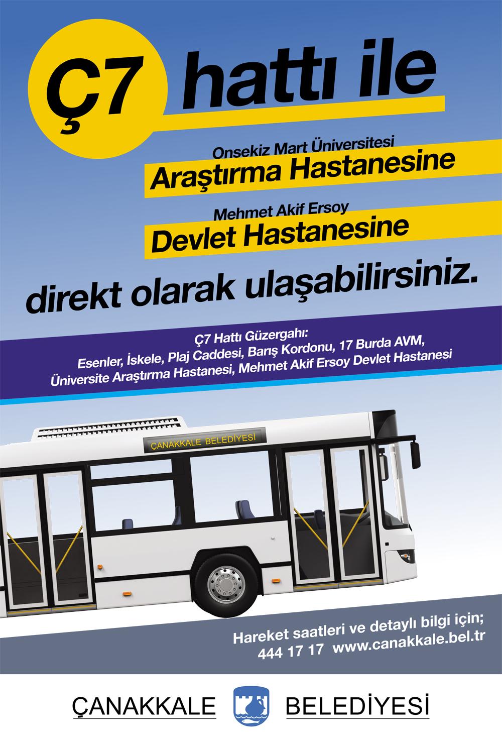 Kent İçi Toplu Ulaşım Sistemi, Kent İhtiyaçları Doğrultusunda Şekilleniyor…