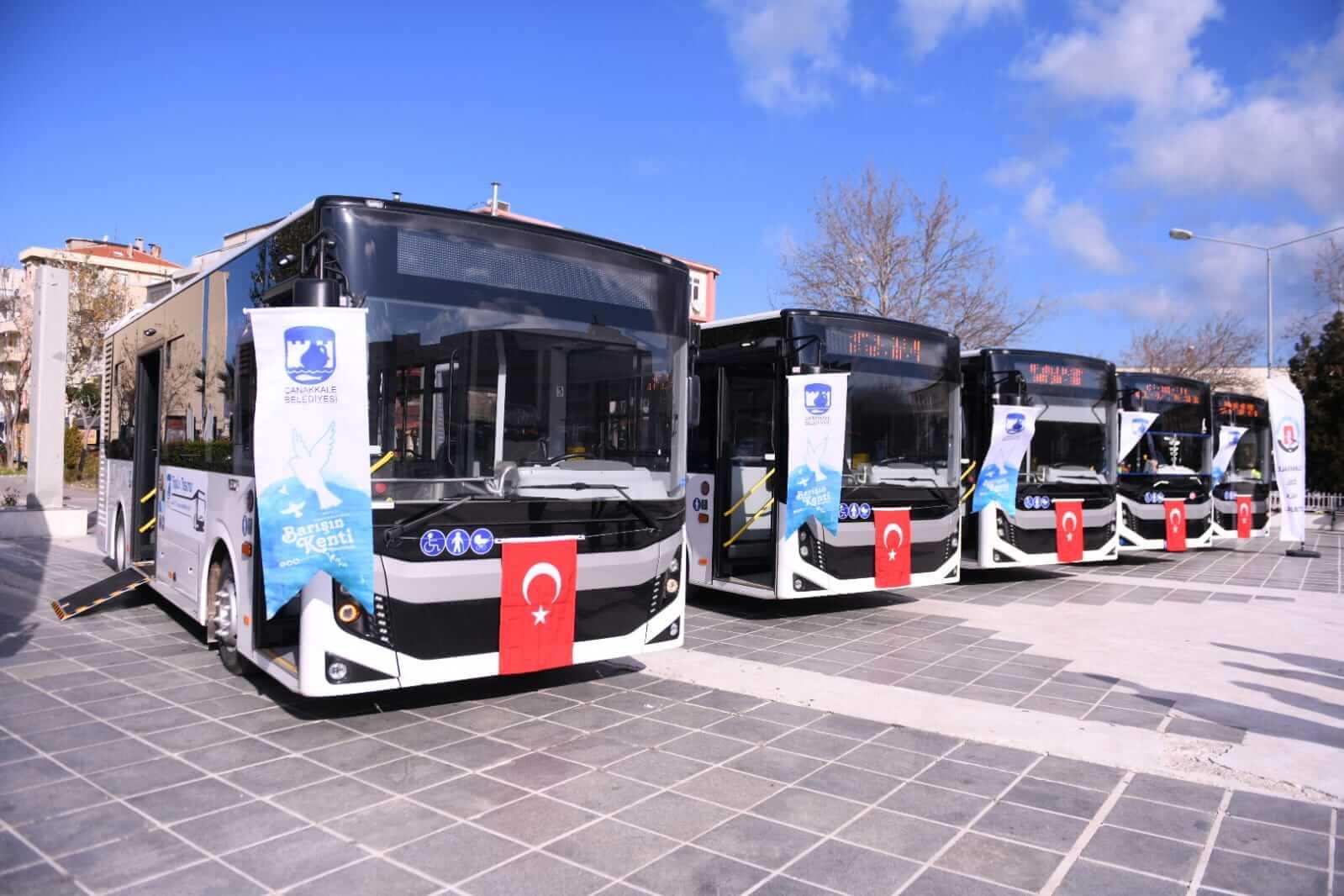 Toplu taşımaya 10 adet yeni araç